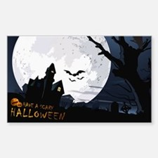 Creepy Haunted House Decal