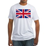 Britain Flag Fitted T-Shirt