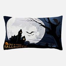 Creepy Haunted House Pillow Case