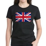 Britain Flag Women's Dark T-Shirt