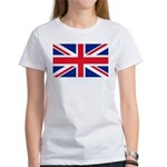 Britain Flag Women's T-Shirt