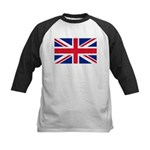 Britain Flag Kids Baseball Jersey