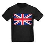 Britain Flag Kids Dark T-Shirt