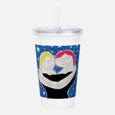 Mom and Me.JPG Acrylic Double-wall Tumbler