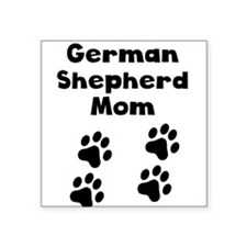 German Shepherd Mom Sticker