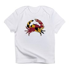 Maryland State Flag Crab VINTAGE Infant T-Shirt