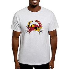Maryland State Flag Crab VINTAGE T-Shirt