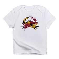 Maryland State Flag Crab Infant T-Shirt