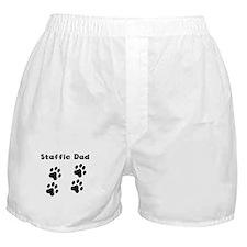 Staffie Dad Boxer Shorts