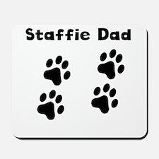 Staffie Dad Mousepad