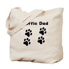 Staffie Dad Tote Bag