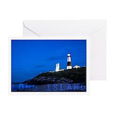 Long Island. Montauk Point Light. Greeting Cards