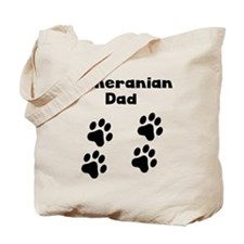 Pomeranian Dad Tote Bag