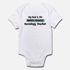 Worlds Greatest Sociology Tea Onesie