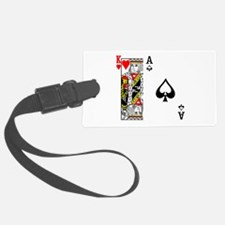 King Ace Luggage Tag