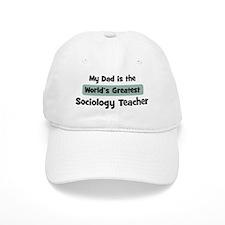 Worlds Greatest Sociology Tea Baseball Cap