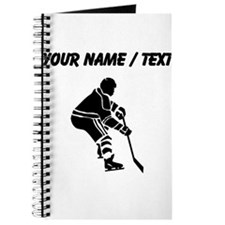 Custom Hockey Player Journal