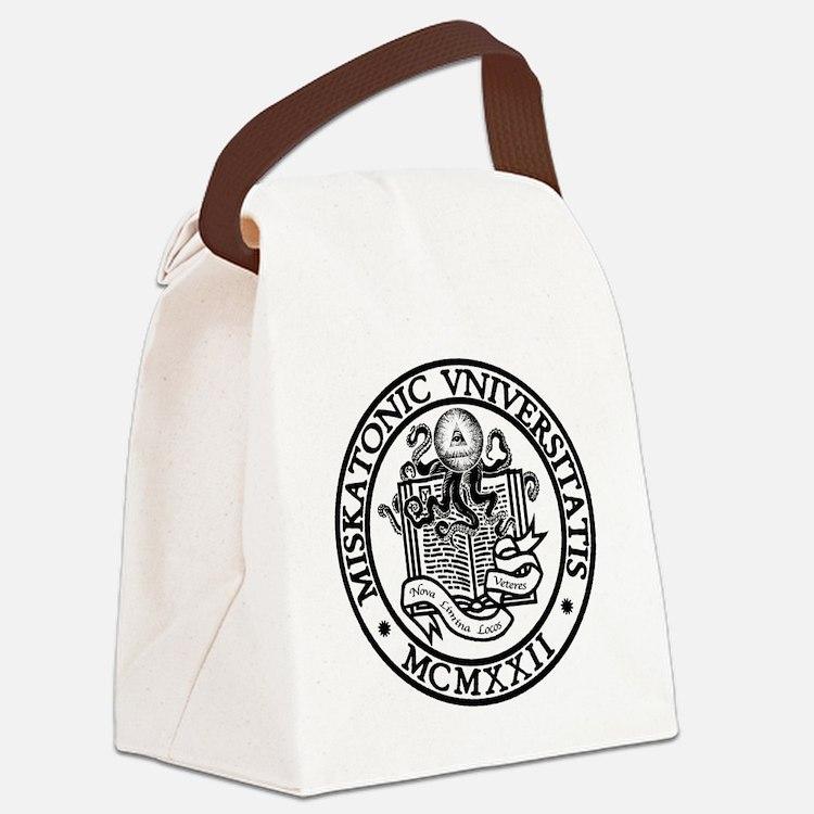 Miskatonic University Canvas Lunch Bag