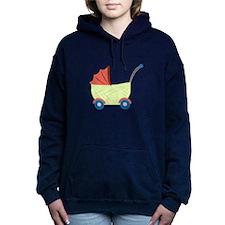 Baby Stroller Women's Hooded Sweatshirt