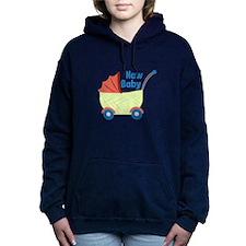 New Baby Women's Hooded Sweatshirt