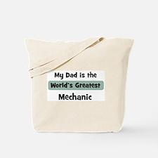 Worlds Greatest Mechanic Tote Bag
