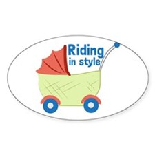 Riding in Style Decal