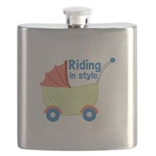 Riding in Style Flask