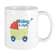 Riding in Style Mugs