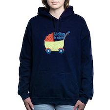 Riding in Style Women's Hooded Sweatshirt