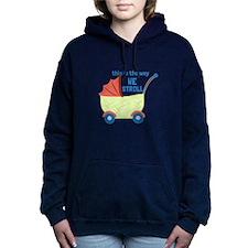 We Stroll Women's Hooded Sweatshirt