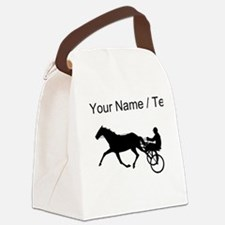 Custom Harness Racing Canvas Lunch Bag