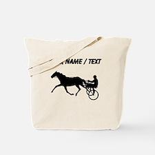 Custom Harness Racing Tote Bag