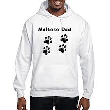 Maltese Dad Hoodie