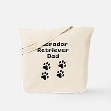 Labrador Retriever Dad Tote Bag
