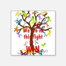 We are in this figh... Sticker