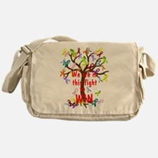 We are in this figh... Messenger Bag