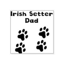 Irish Setter Dad Sticker