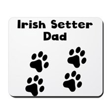 Irish Setter Dad Mousepad