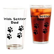 Irish Setter Dad Drinking Glass