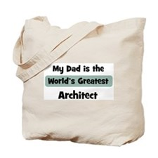 Worlds Greatest Architect Tote Bag
