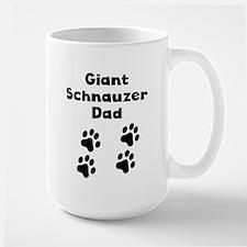 Giant Schnauzer Dad Mugs