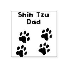 Shih Tzu Dad Sticker