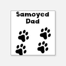 Samoyed Dad Sticker