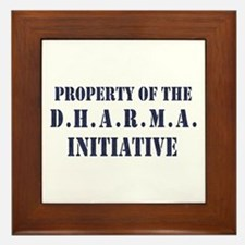 D.H.A.R.M.A. Initiative LOST Framed Tile