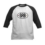 Serbia Intl Oval Kids Baseball Jersey
