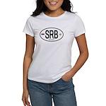 Serbia Intl Oval Women's T-Shirt