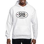 Serbia Intl Oval Hooded Sweatshirt
