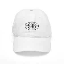Serbia Intl Oval Baseball Cap