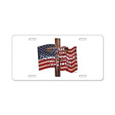I Will Never Forget 9-11-01 Aluminum License Plate