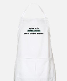 Worlds Greatest Social Studie BBQ Apron
